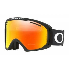 Oakley Canada O-Frame 2.0 XL Matte Black w/Fire Iridium & Persimmon