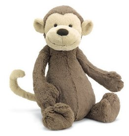 JellyCat Jelly Cat Bashful Monkey Large