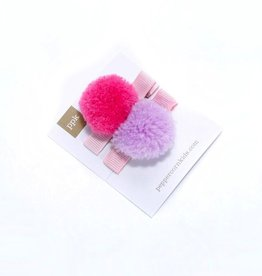 Peppercorn Kids Peppercorn Kids Pompom Hair Clip Set