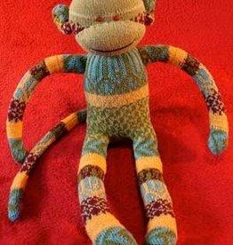 Monkey Shine Studios Handmade Cotton Monkey