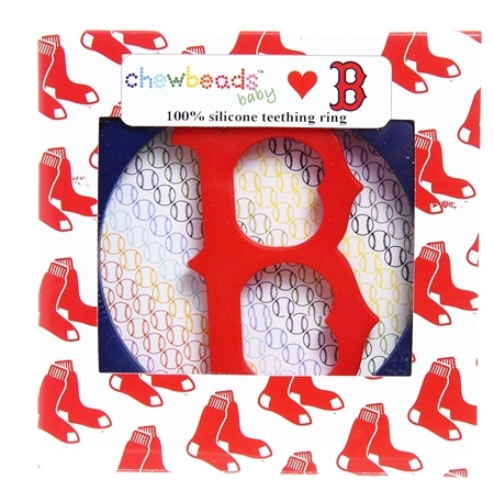 chewbeads Chewbeads Boston Red Sox Teether