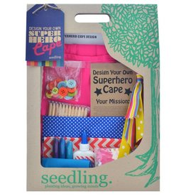 Seedling Seedling Make Your Own Super Hero Cape Pink