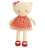 Alimrose Alimrose Red Posy Large Kitty Doll