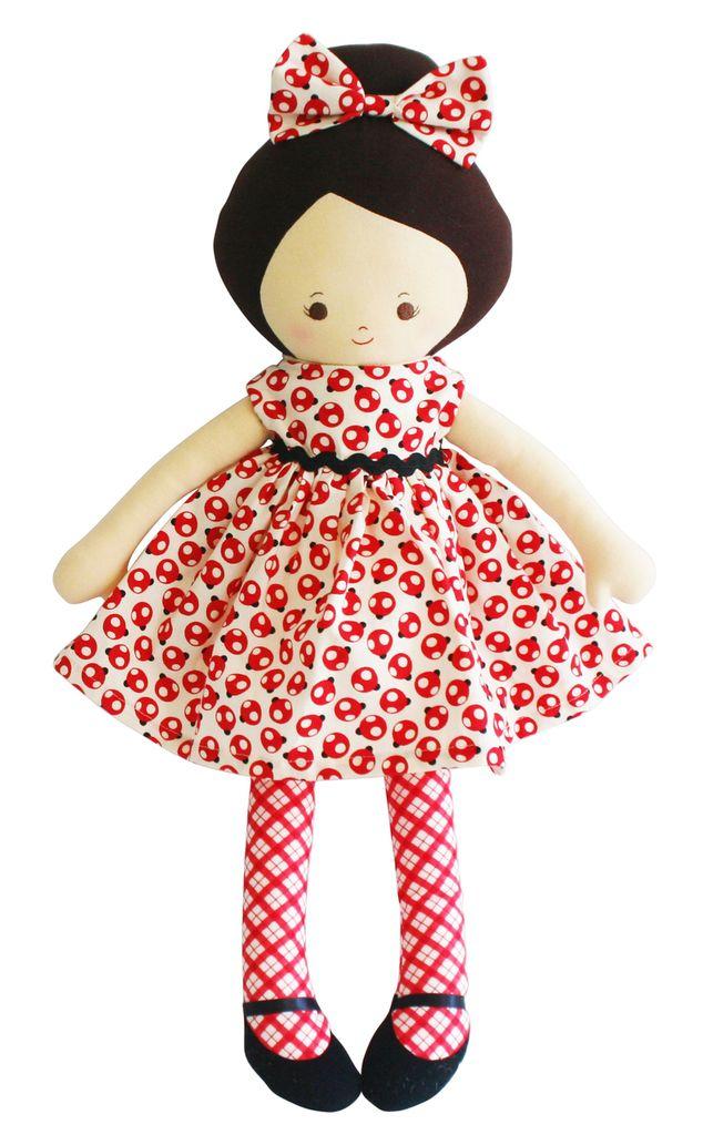 Alimrose Alimrose Maggie Doll Lady Bug
