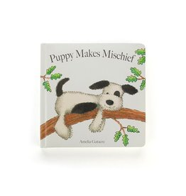 JellyCat Jelly Cat Puppy Makes Mischief Book