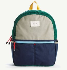 State State Kane Backpack- Green/Navy