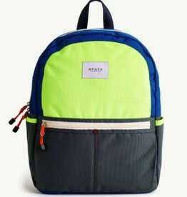 State State Kane Backpack- Lime/Gray