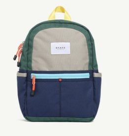 State State Mini Kane Backpack- Green/Navy
