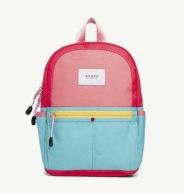 State State Mini Kane Backpack- Pink/Mint