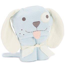 Elegant Baby Elegant Baby Blue Puppy Bath Wrap