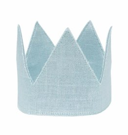 Oh Baby Oh Baby Aqua Linen Crown Infant