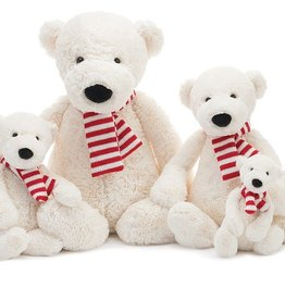 JellyCat Jelly Cat Pax Polar Bear Small