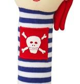 Alimrose Alimrose Pirate Squeaker Stripe Navy
