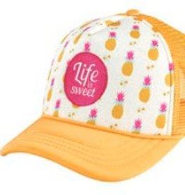 "San Diego Hat San Diego Hat Pineapple ""Life is Sweet"" Trucker Hat"