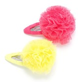 Peppercorn Kids Peppercorn Kids Tulle Pompom Hair Clip 2 pack