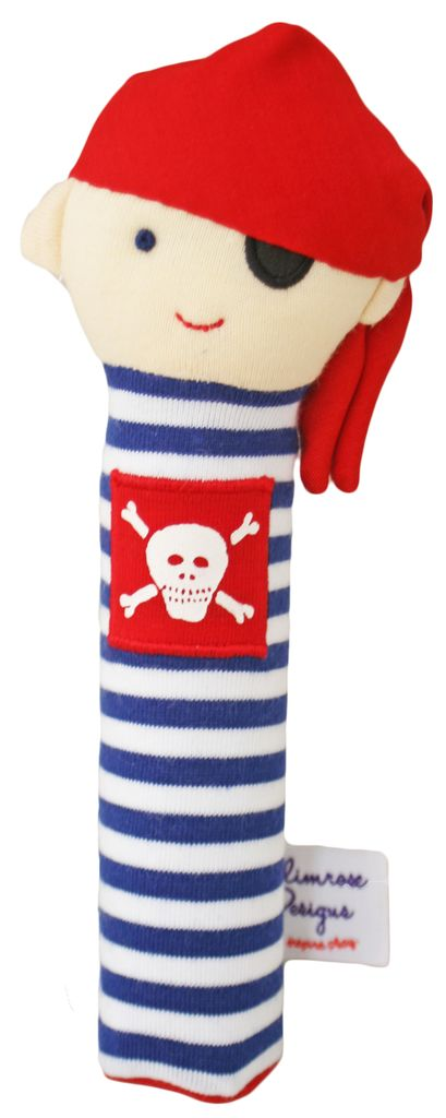 Alimrose Alimrose Pirate Squeaker *More Colors*