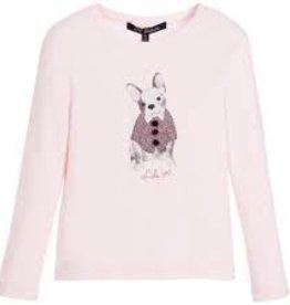 Lili Gaufrette Lili Gaufrette Long Sleeve French Bulldog Shirt