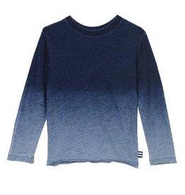 Splendid Splendid Long Sleeve Dip Dye Shirt