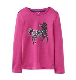 Joules Joules Sparkle Horse Applique Jersey Top