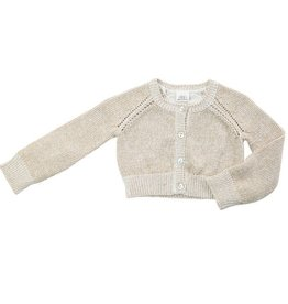 Egg Egg Baby Cotton Button Up Cardigan