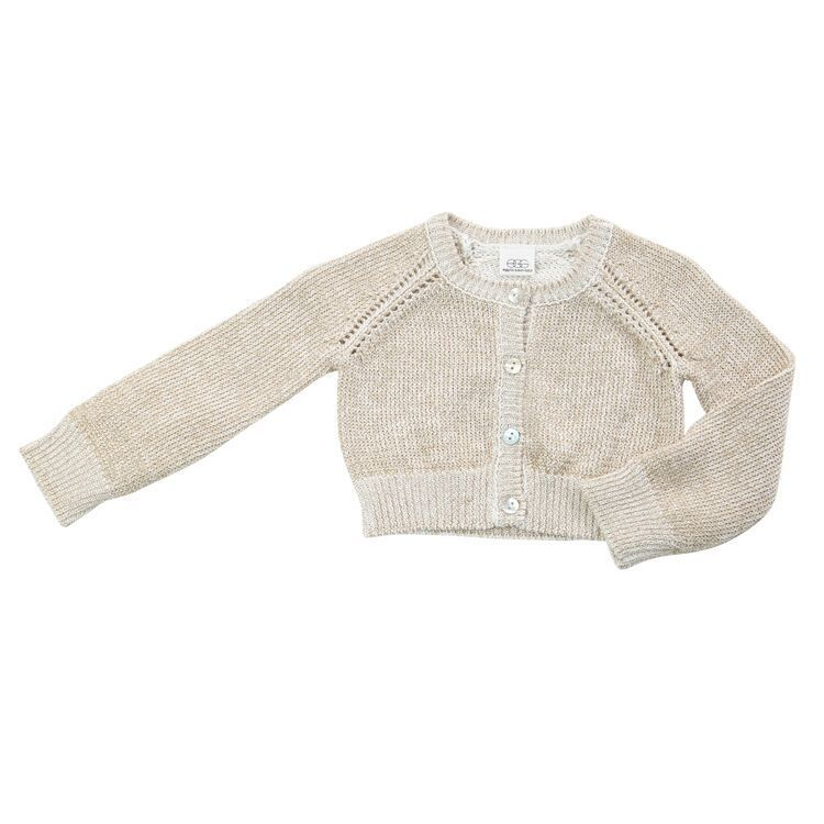 Egg Baby Cotton Button Up Cardigan