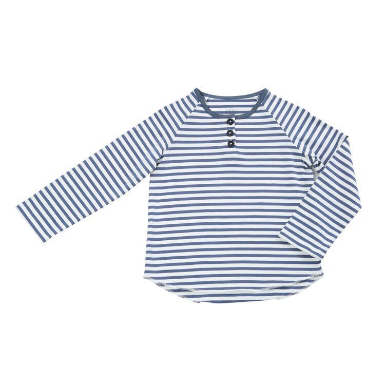 Egg Egg Mason Button Up Stripe Shirt