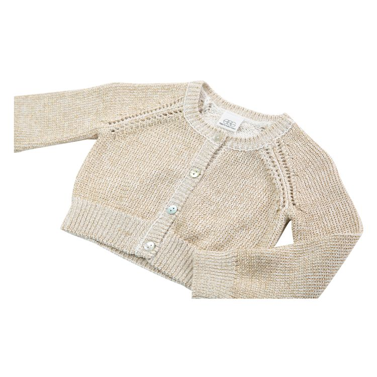 Egg Cotton Button Up Cardigan
