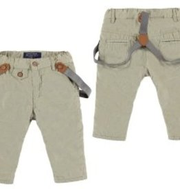 Mayoral Mayoral Microcord Trousers with Suspenders
