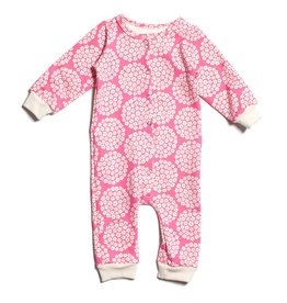 Winter Water Factory Winter Water Factory French Terry Flower Dots Jumpsuit