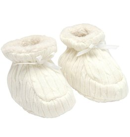 Elegant Baby Elegant Baby Cable Knit Booties *More Colors*