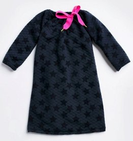 Morgan & Milo Ruby Quilted Star Dress