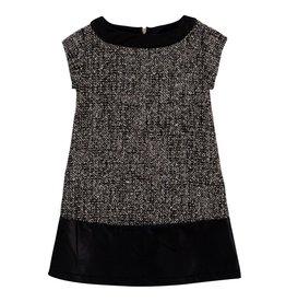 deux par deux Deux Par Deux Make a Wish Tweed Dress