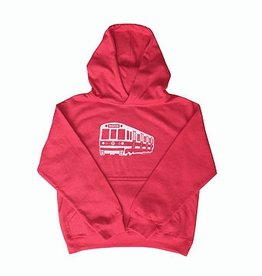 Sidetrack Sidetrack Red Line Hoodie- Red