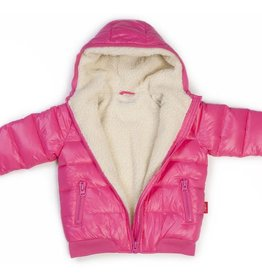 one kid One Kid Performance Down Sherpa Linded Bomber Coat