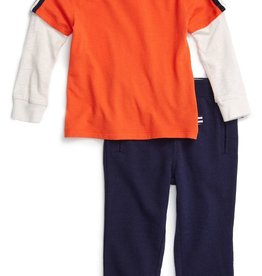 Splendid Splendid Long Sleeve Top & Pant Set