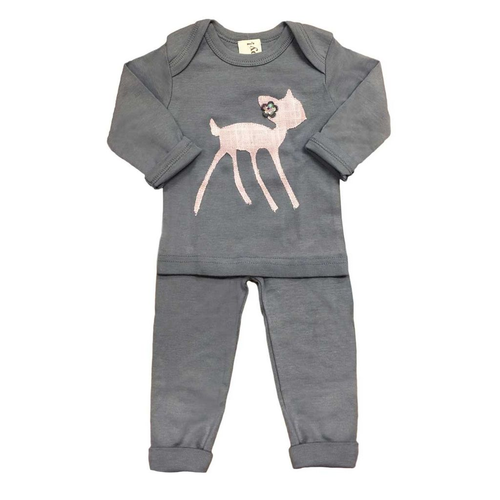 Oh Baby Oh Baby Fawn 2pc Set