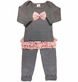 Oh Baby Oh Baby Sparkle Bow 2pc Set