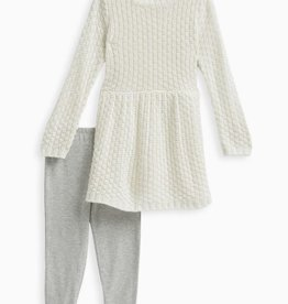 Splendid Splendid Lurex Sweater Set