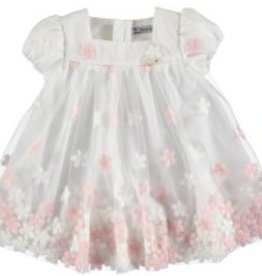 Mayoral Mayoral Embroidered Tulle Dress