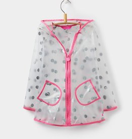 Joules Joules Clear Dot Raincoat