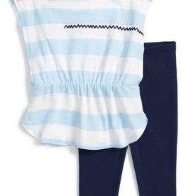 Splendid Splendid Baby Whipstitch Embroidered Top & Legging Set