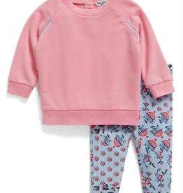 Splendid Splendid Baby Whipstitch Pullover & Leggings Set