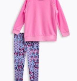 Splendid Splendid Whipstitch Pullover & Leggings Set