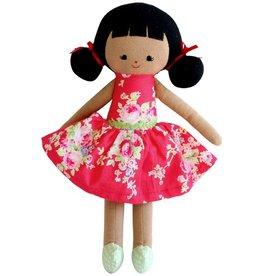 Alimrose Alimrose Audrey Doll Red Floral