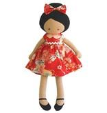 Alimrose Alimrose Maggie Doll Red