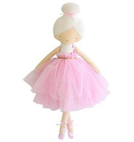 Alimrose Alimrose Amelie Ballet Doll Bows & Roses Pink