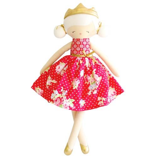 Alimrose Alimrose Princess Penelope Red Floral