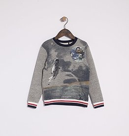ikks IKKS Moon Graphic Sweatshirt
