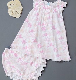 Feather Baby Feather Baby Henley Dress and Bloomer