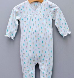 Feather Baby Feather Baby Ice Cream Crossover Footie